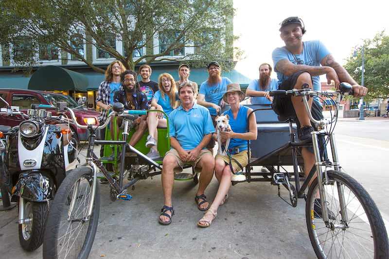Savannah pedicab celebrates 25 years