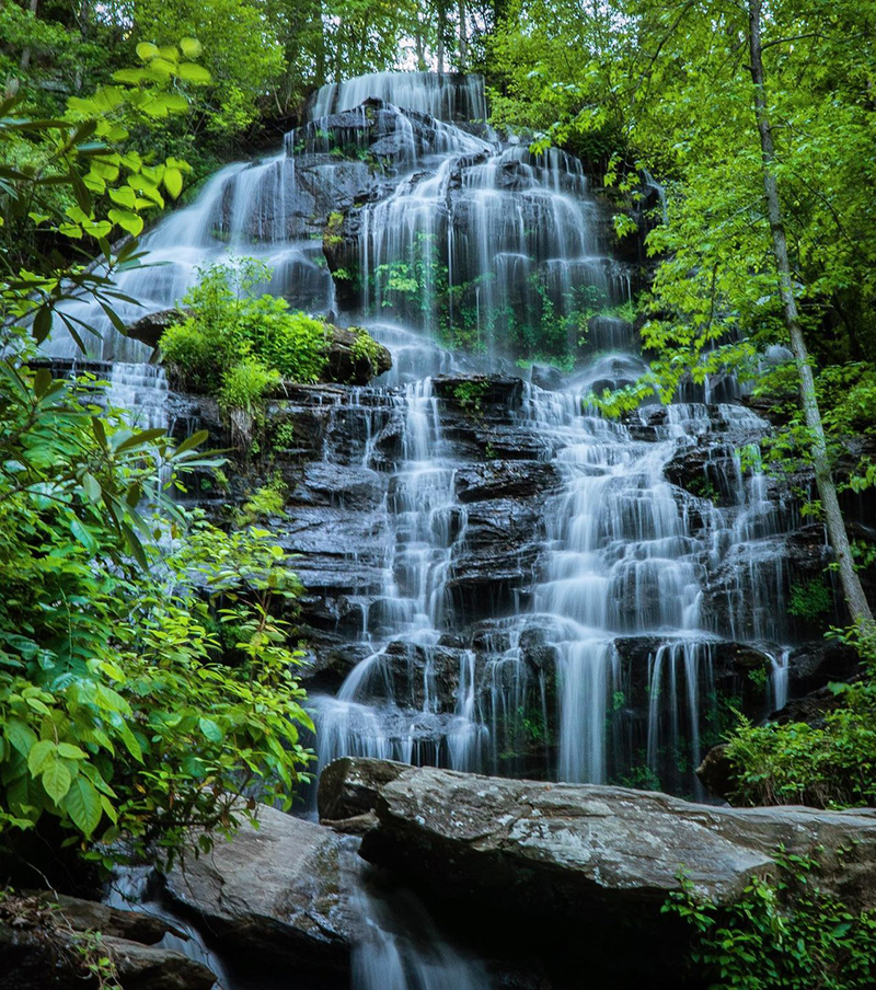 Raven Cliff Falls in Greenville