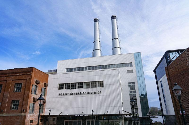 Power plant, Plant Riverside District