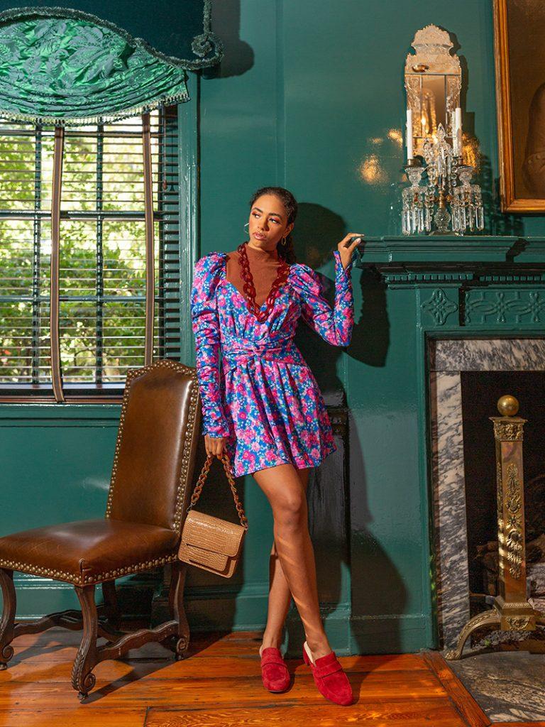 Fall fashion in Savannah